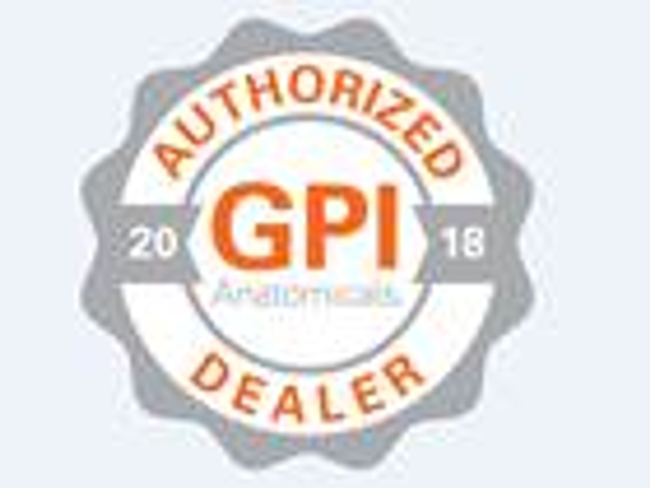 Authorized GPI dealer,