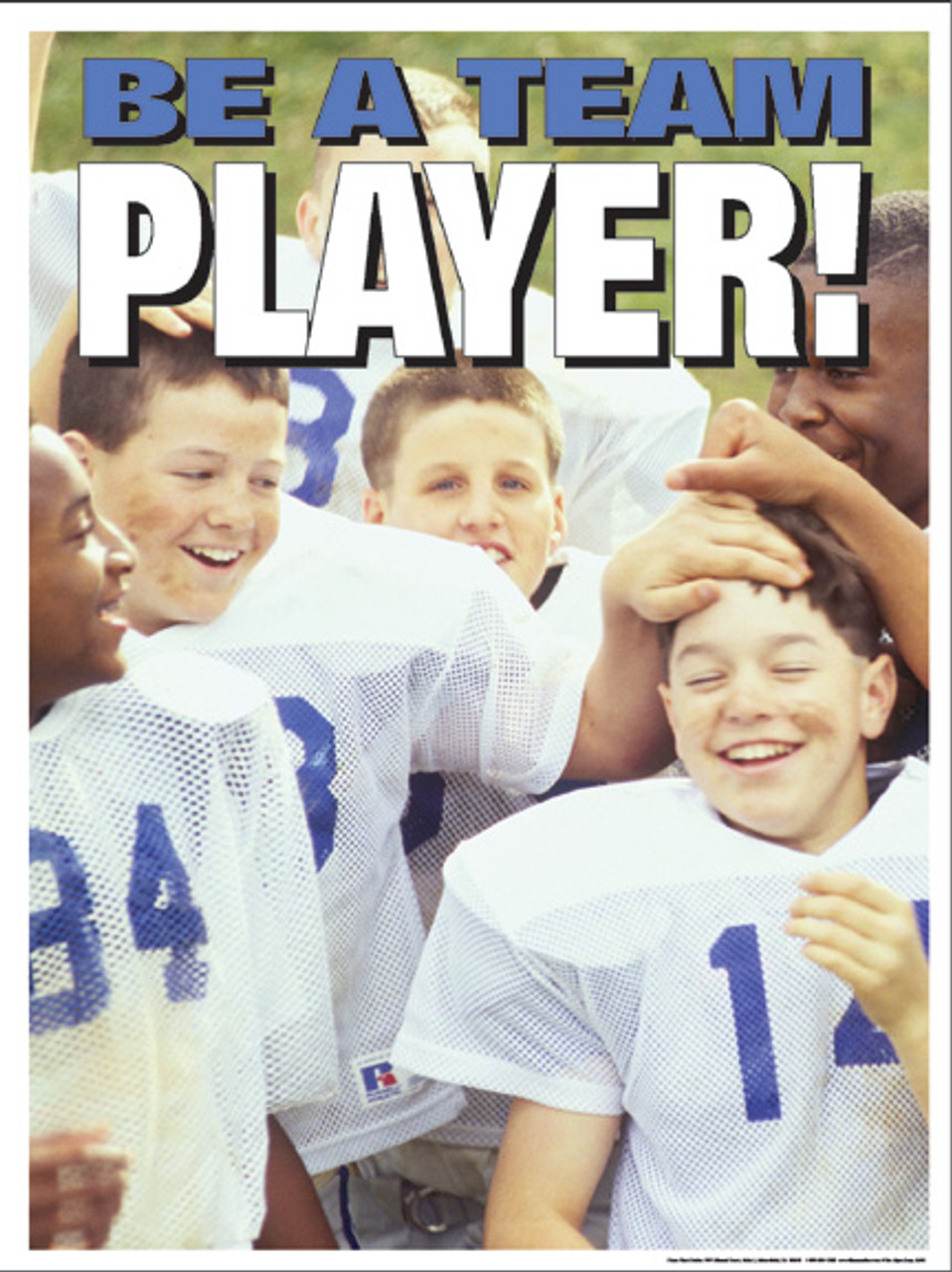 Be A Team Player Poster
