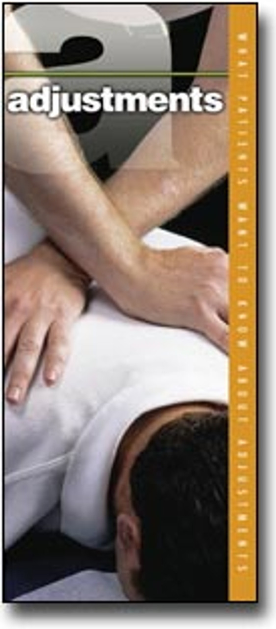 Adjustments Chiropractic Brochure