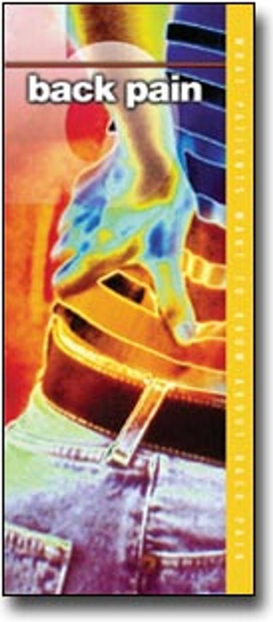 Back Pain Chiropractic Brochure