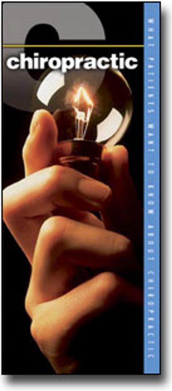 Chiropractic Brochure Cover