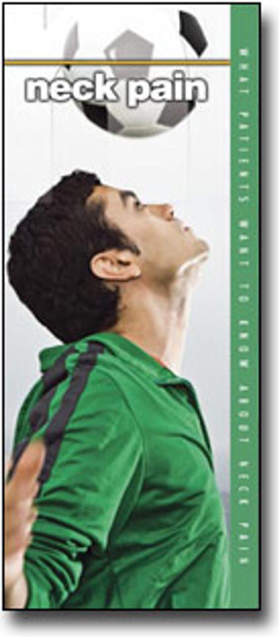 Neck Pain Chiropractic Brochure