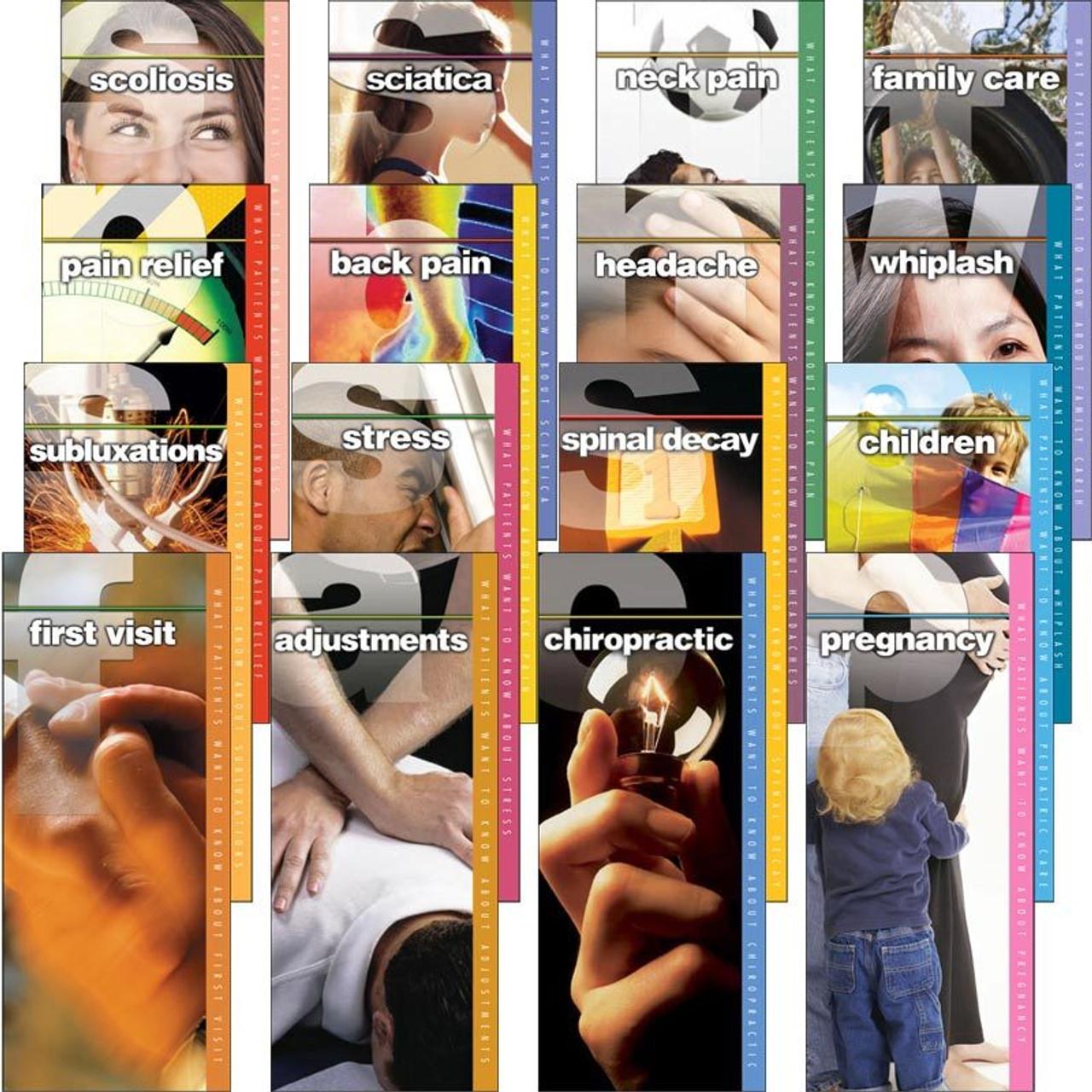 Chiropractic Brochure Starter Pack