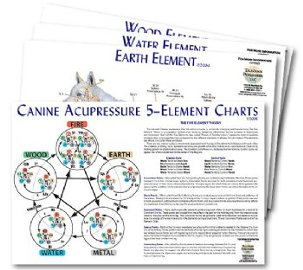 5Th Element Chart Set for Canine