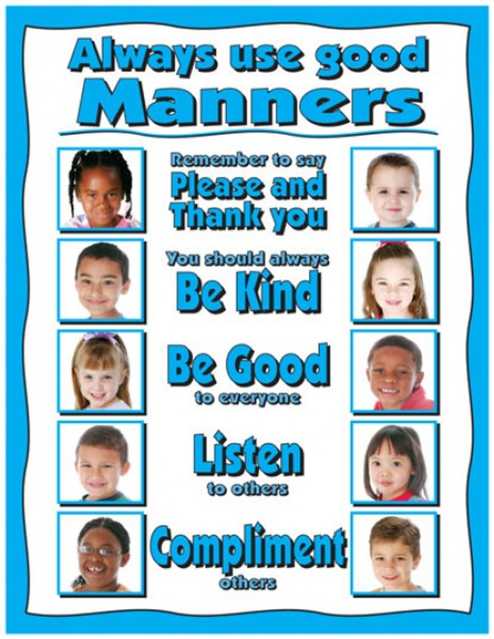 Manners Posters