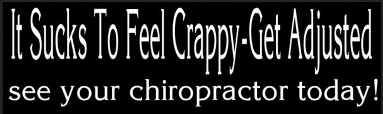 Chiropractic Bumper Sticker