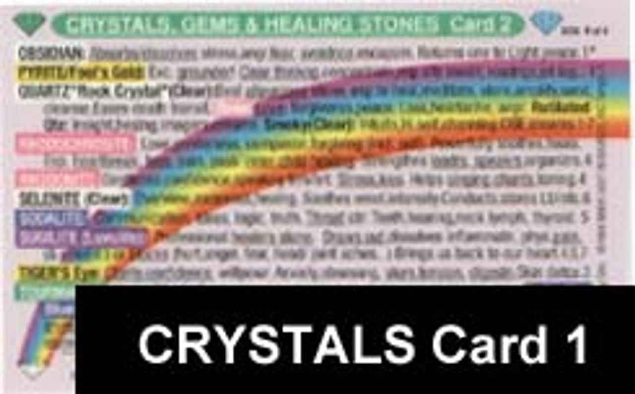 Crystals Card