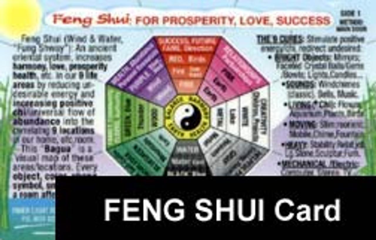 Feng Shui Card