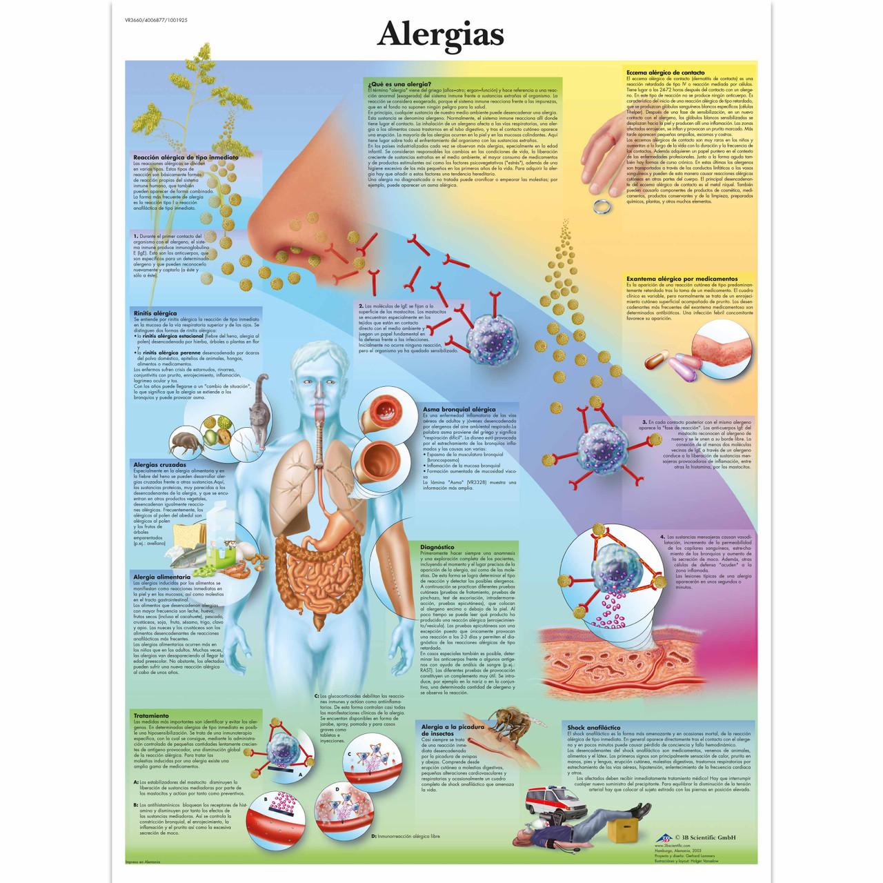 Alergias Chart