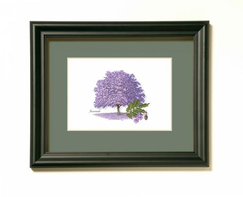 Jacaranda Tree Print