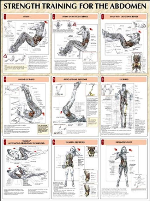 Abdominal Exercise Poster