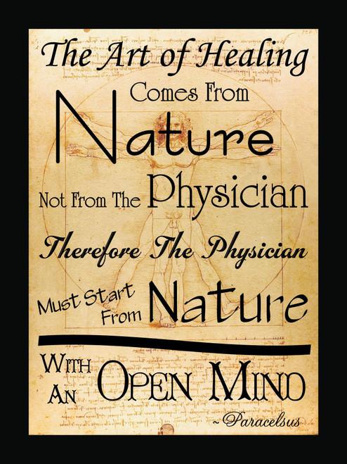 The Art Of Healing Poster