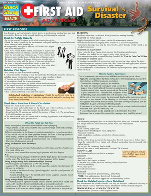 Survival Study Guide