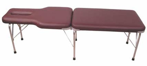 Portable Chiropractic Adjusting Table -Adjustable Height