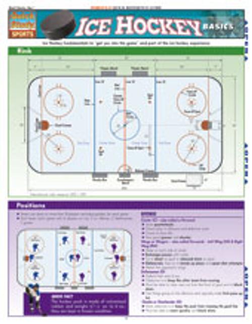 Ice Hockey Basics Chart