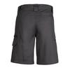 ZWL011 - Womens Plain Utility Short Charcoal Back