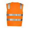 ZV999 - Unisex Hi Vis Basic Vest O BACK