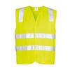 ZV999 - Unisex Hi Vis Basic Vest Y FRONT
