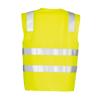ZV999 - Unisex Hi Vis Basic Vest Y BACK