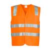 ZV999 - Unisex Hi Vis Basic Vest O FRONT
