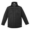 Black - ZJ253 Unisex Antarctic Softshell Taped Jacket - SYZMIK