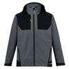 Charcoal-Black - ZJ310 Unisex Streetworx Stretch Waterproof Jacket - SYZMIK