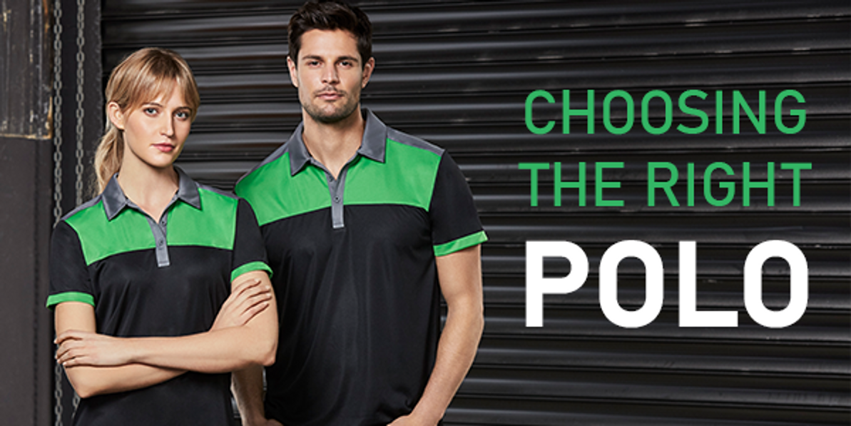 Working in the heat? Choose the right Polo Shirt