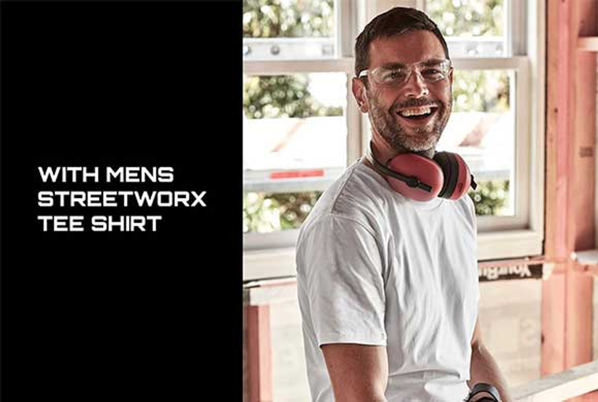 [NEW] Mens Streetworx Tee Shirt (Perfect for trades and outdoor enthusiasts)