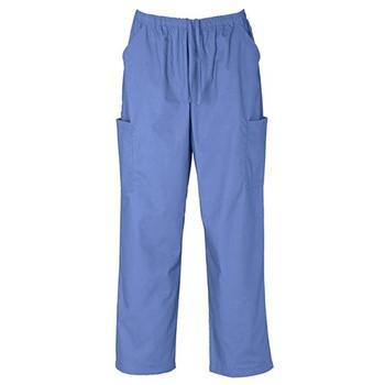 H10610 - Unisex Classic Scrubs Cargo Pants - Mid Blue