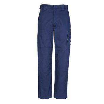 ZW005 - Mens Cordura® Duckweave Pant Blue Front
