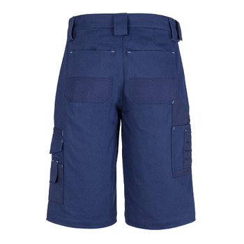 ZW013 - Mens Cordura Duckweave Shorts Navy Back