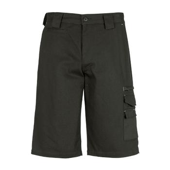 ZW013 - Mens Cordura Duckweave Shorts Olive Front
