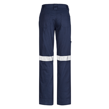 ZWL004 - Womens Taped Utility Pant Navy Back