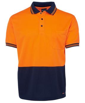 Orange/Navy
