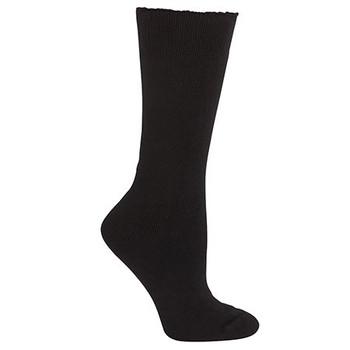 6WWSB - JB's Bamboo Work Sock - Black
