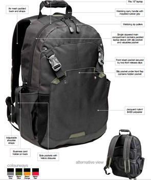 BG1154 - Lithium Laptop Bag