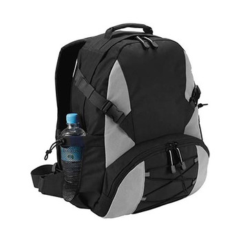 B478 - Outdoor Backpack - Black/Silver