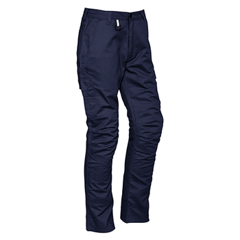 ZP504 - Mens Rugged Cargo Cooling Pant (Regular) Navy Front