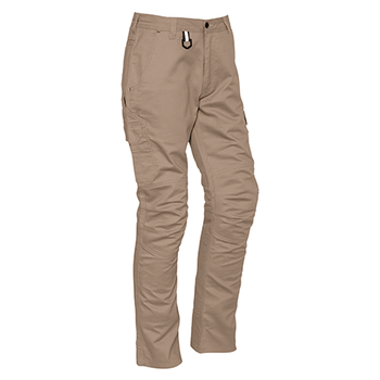 ZP504 - Mens Rugged Cargo Cooling Pant (Regular) Khaki Front