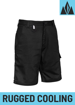 ZS505 - Mens Rugged Cooling Vented Short