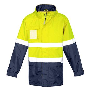 ZJ357 - Mens Ultralite Waterproof Jacket Y/N FRONT