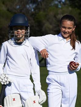 CP1214 - Kids Long Sleeve Cricket Polo