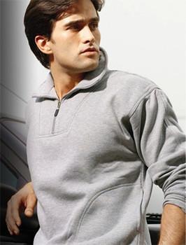 CJ817 - Unisex Adults 1/2 Zip Fleece With Pocket