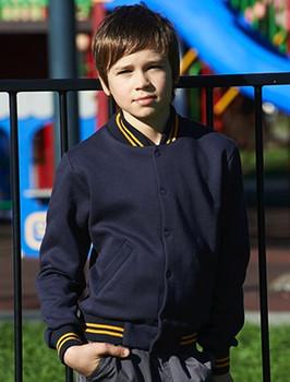 CJ1314 - Kids School Wear Bomber Jacket