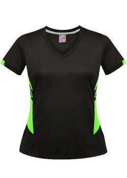 Black/Fluro Green