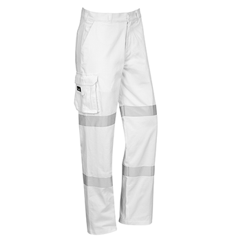 ZP920 - Mens Bio Motion Taped Pant White Front