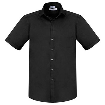 Black - S770MS - Mens Monaco Short Sleeve Shirt