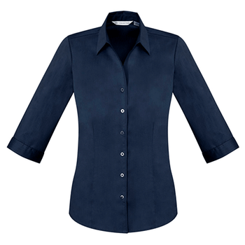 S770LT - Ladies Monaco 3/4 Sleeve Shirt Ink