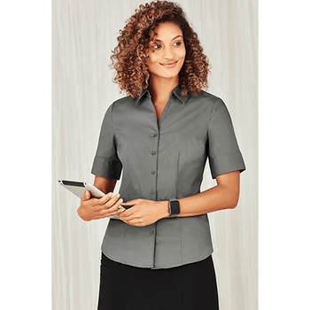 S770LS - Ladies Monaco Short Sleeve Shirt Display