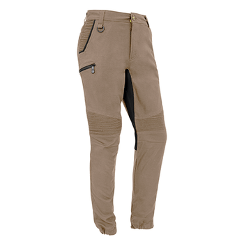 ZP340 - Mens Streetworx Stretch Pant Khaki Front